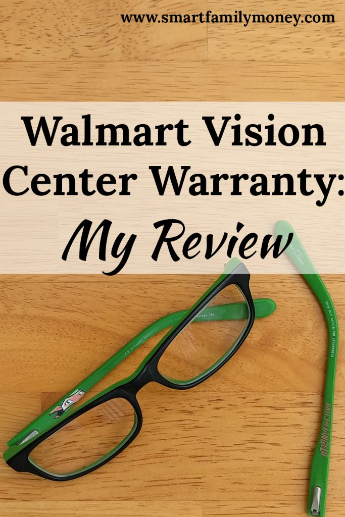Walmart Vision Center Warranty: My Review - Smart Family Money