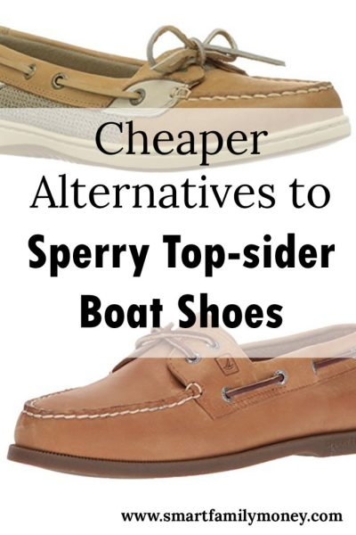 Cheaper Alternatives to Sperry Top-sider Boat Shoes
