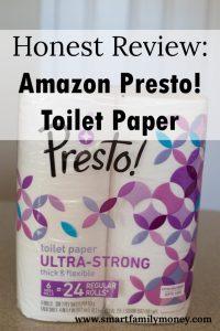 Review Amazon Presto Toilet Paper