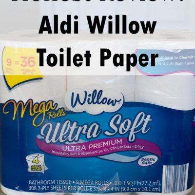 Review: Willow Toilet Paper from Aldi