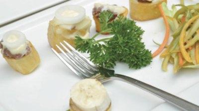 Irish potatoes with millet, sorghum & cheese