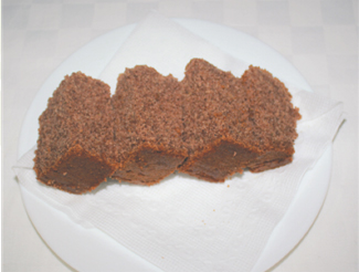 Finger Millet Gluten Free Cake