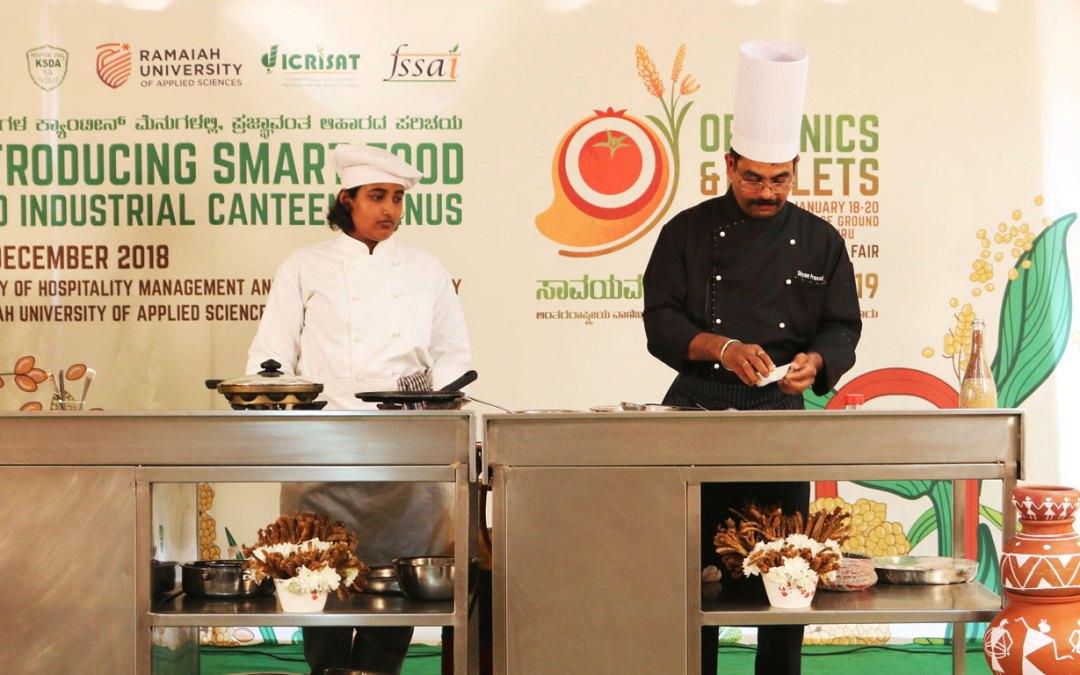 Placing Smart Food in industrial canteen menus