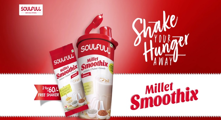Soulfull launches new #ShakeYourHungerAway TVC for Smoothix