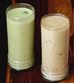 Buttermilk with a twist of ragi