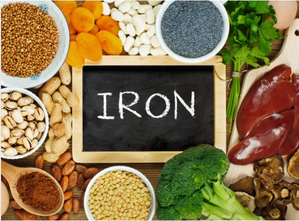 Diet to treat iron deficiency