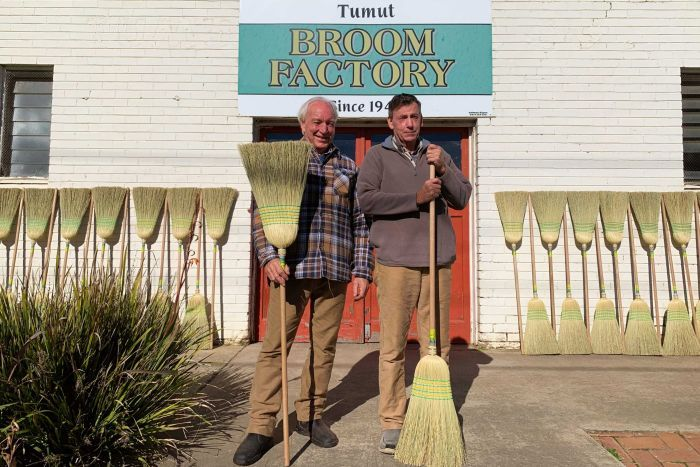 Australian millet broom factory tries to resist sweeping changes in consumer culture