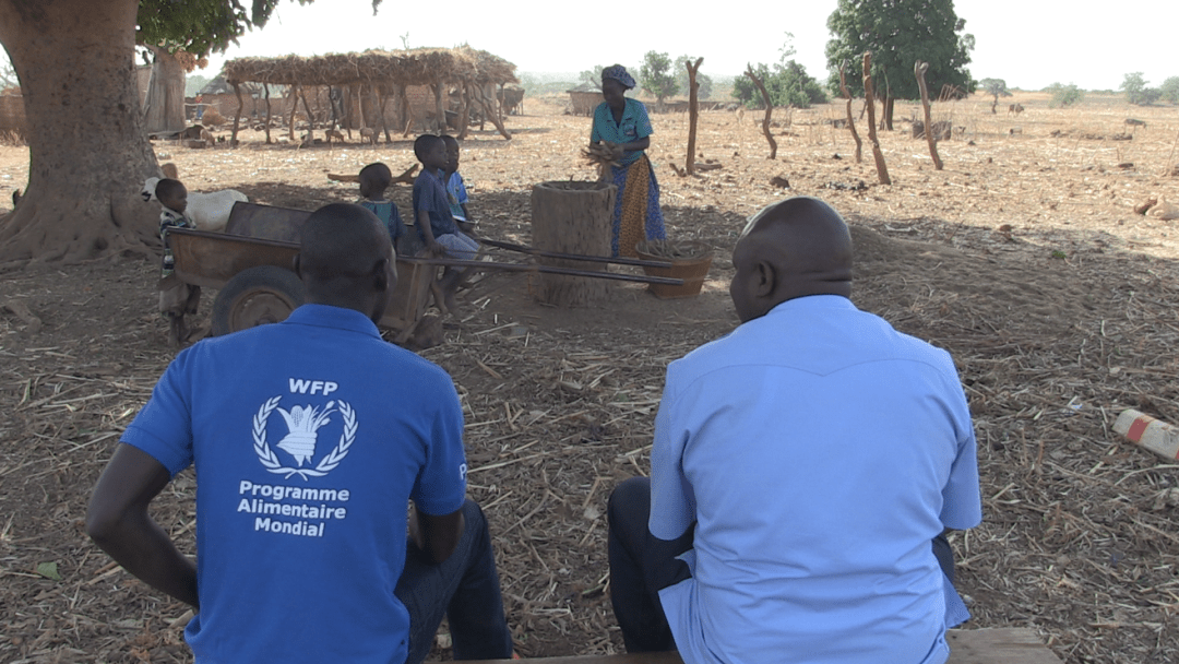 Putting a smile back on the faces of people experiencing food and nutrition insecurity during the 2019 lean season in Burkina Faso
