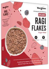 Organic Ragi Flakes by Murginns, KCL Ltd