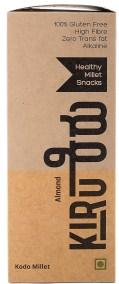 Almond Kodo Millet Bar by Kiru, OrgTree