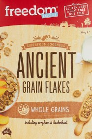 Ancient Grain Flakes by Freedom Foods Pty Ltd