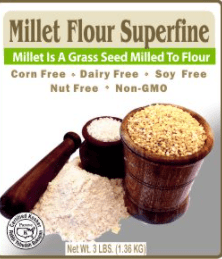 Millet Flour Superfine by Authentic foods