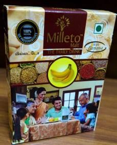 Banana Malt by Milleto, Adhisurya Foods