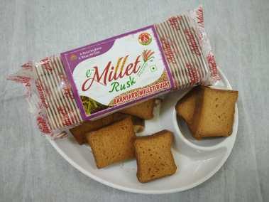 Barnyard Millet Rusk by Moon Foods