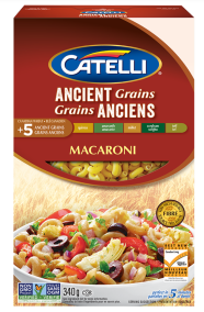 Ancient Grains Macaroni by Catelli