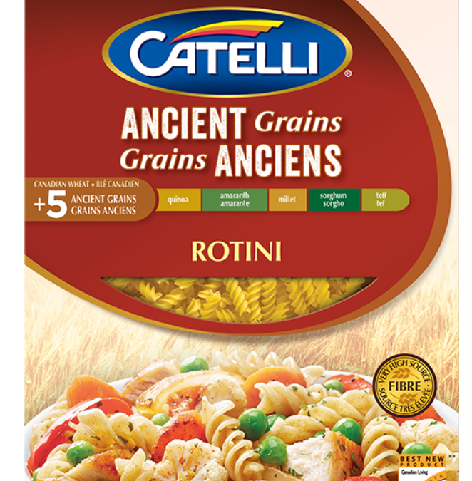Ancient Grains Rotini by Catelli