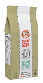 Organic Millet Flour by Cusine Soleil