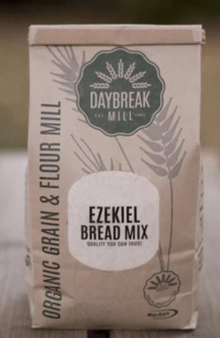 Ezekeil bread mix by Daybreak Mill