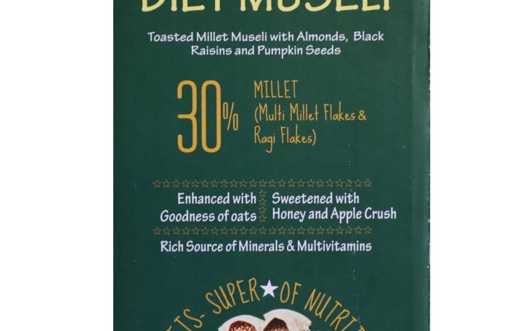 Diet Museli by Millet Mantra