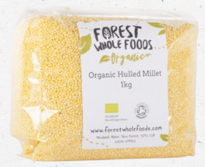 Organic Millet Hulled by Forest Wholefoods