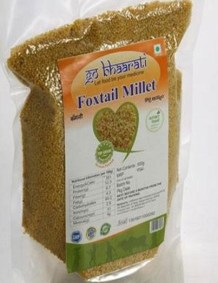 Foxtail Millet by Go Bhaarati
