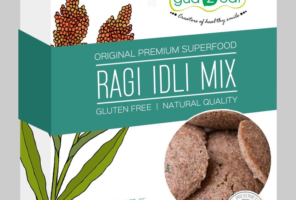 Ragi Idly Mix by Gud2Eat, Samruddhi Agro