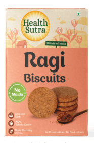 Ragi Biscuits by Health Sutra, Fountainhead Foods