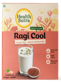 Ragi Cool Instant Mix by Health Sutra, Fountainhead Foods