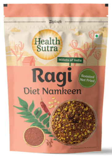 Ragi Diet Namkeen by Health Sutra, Fountainhead Foods