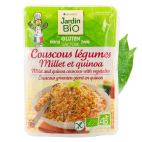 Couscous Legumes Millet et Quinoa by Jardin Bio