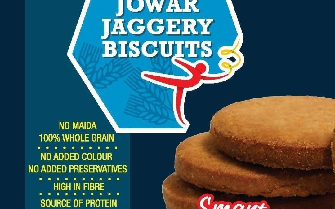 Jowar Jaggery Biscuits by Rigdam