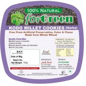 Kodo Millet Cookies by Joule Foods
