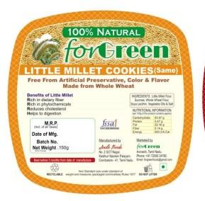 Little Millet Cookies by Joule Foods
