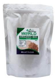 Millet Flour by Macrobiotic World