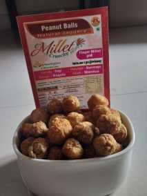 Millet Peanut Balls by Moon Foods