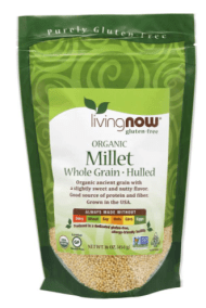 Organic Millet Whole Grain Hulled by Now Foods