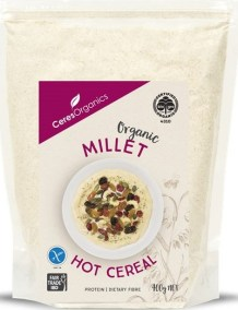 Organic Millet Hot Cereal by Ceres Organics