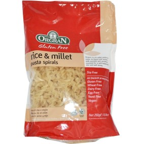 Rice and Millet Pasta Spirals by Orgran Foods