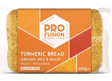 Profusion Organic turmeric rice bread
