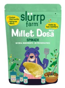 Millet Spinach Dosa by Slurrp Farm