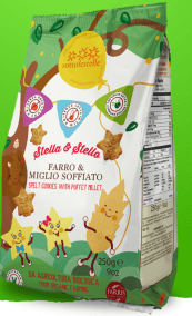 Stella & Stello Spelled Biscuits With Puffed Millet by Sottolestelle