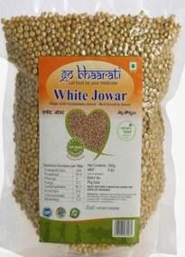 White Jowar by Go Bhaarati