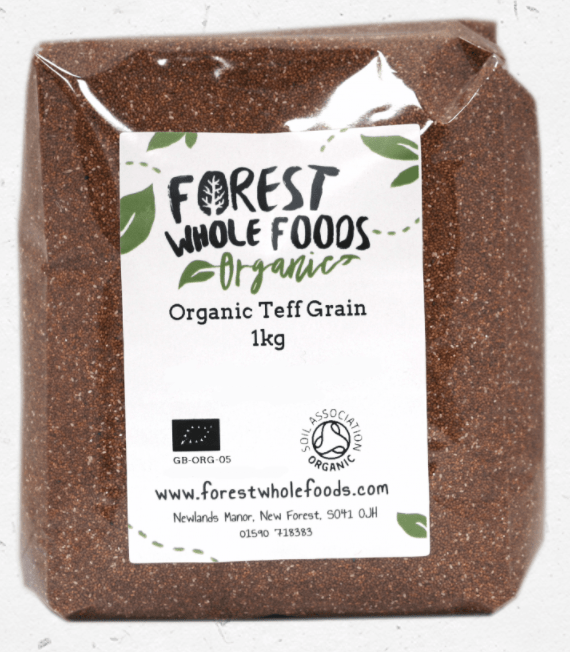 Organic Teff Grain by Forest Wholefoods