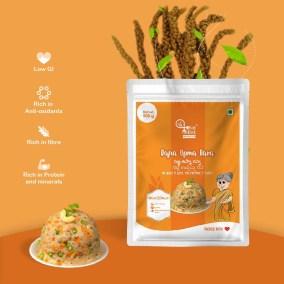 Bajra (Pearl Millet) Upma Rava by Eat Millet, Coastal Foods