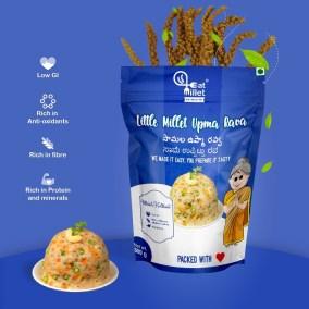 Little Millet Upma Rava by Eat Millet, Coastal Foods