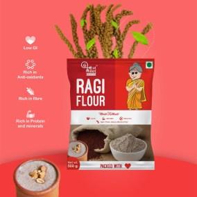 Ragi Atta by Eat Millets, Coastal Foods
