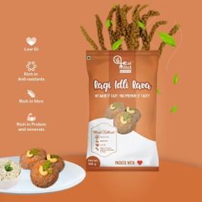 Ragi Idly Rava by Eat Millet, Coastal Foods
