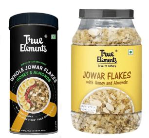 Jowar Flakes by True Elements