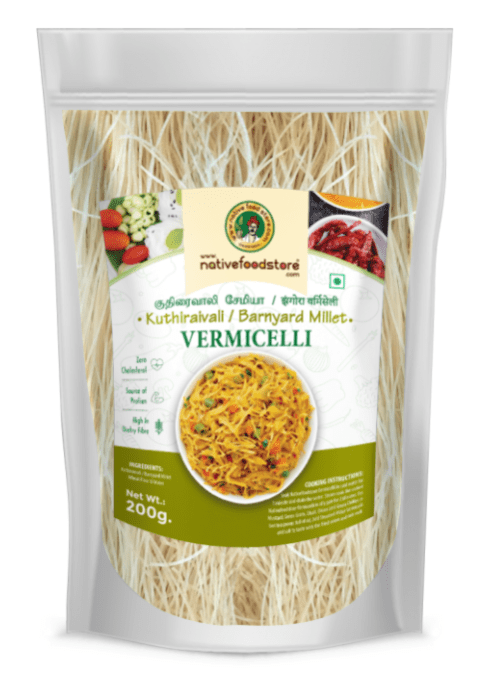Barnyard Millet Vermicelli by Native Food Store