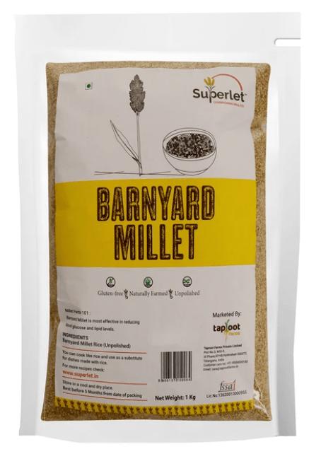 Barnyard Millet by Superlet